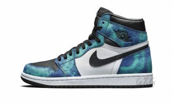 "Air Jordan 1 High OG WMNS""Tie-Dye""CD0461 100"