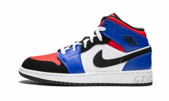 "Air Jordan 1 Mid (GS)""Top 3"" 554725 124"