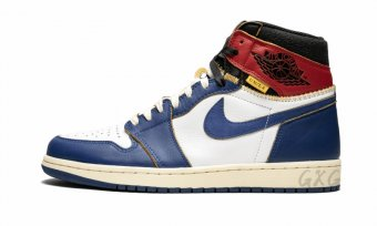 "Air Jordan 1 Retro HI NRG UN""Union - Storm Blue"" BV1300 146"