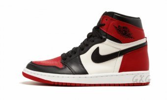 "Air Jordan 1 Retro High ""Bred Toe"" 555088 610"