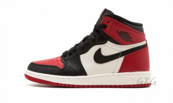 "Air Jordan 1 Retro High OG BG""Bred Toe"" 575441 610"