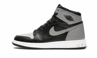 "Air Jordan 1 Retro High OG BG ""Shadow"" 575441 013"
