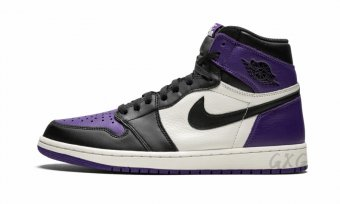 "Air Jordan 1 Retro High OG""Court Purple"" 555088 501"