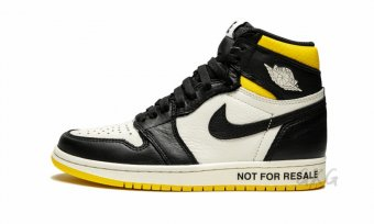 "Air Jordan 1 Retro High OG NRG""Not For Resale"" 861428 107"