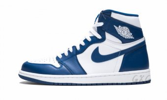 "Air Jordan 1 Retro High OG""Storm Blue"" 555088 127"