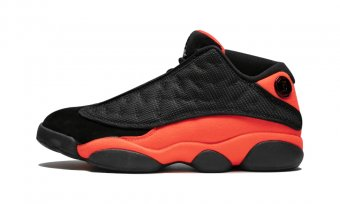 "Air Jordan 13 Retro Low NRGCT""CLOT BlackInfrared"" AT3102 006"