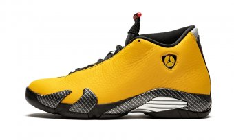 "Air Jordan 14""Yellow Ferrari""BQ3685 706"