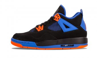 "Air Jordan 4 Retro (GS)""Cavs"" 408452 027"
