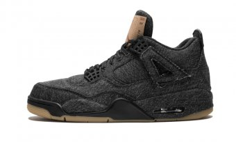 "Air Jordan 4 Retro Levis NRG""Black Levis"" AO2571 001"