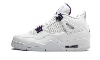 "Air Jordan 4 Retro ""Metallic Pack - Purple"" CT8527 115"