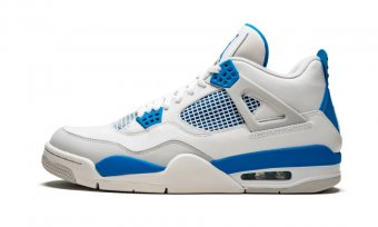 "Air Jordan 4 Retro""Military Blue"" 308497 105"