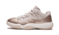 "Womens Air Jordan 11 Retro Low""Rose Gold"" AH7860 105"