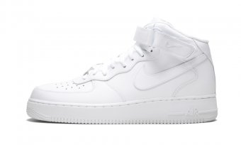 "Air Force 1 Mid 07 ""White on White"" 315123 111"