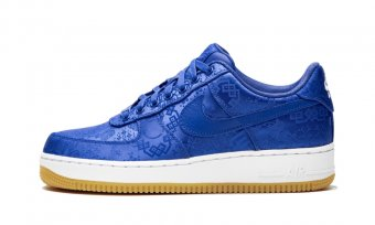 "Air Force 1 PRM""Clot - Blue Silk"" CJ5290 400"