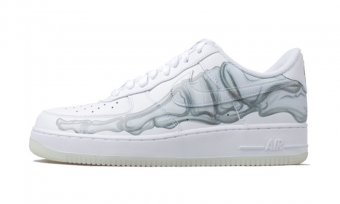 Nike Air Force 1 QS Skeleton BQ7541-100