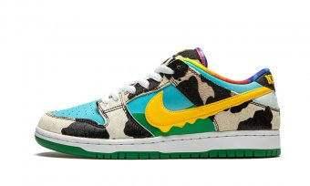 "SB Dunk Low ""Ben & Jerry's - Chunky Dunky"" CU3244 100"
