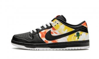 "SB Dunk Low""Tie-Dye Rayguns 2019 - Black"" BQ6832 001"