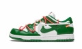 "Dunk Low ""Off-White - Pine Green"" CT0856 100"