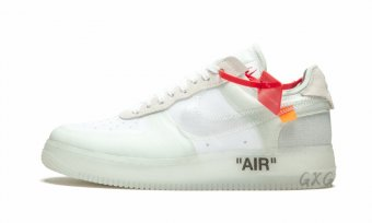 "The 10 Nike Air Force 1 Low""Off-White"" AO4606 100"