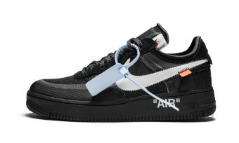 "The 10 Nike Air Force 1 Low ""Off-White Black"" AO4606 001"