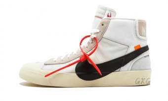 "The 10 Nike Blazer Mid""Off-White"" AA3832 100"