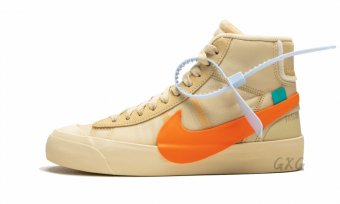 "The 10 Nike Blazer Mid ""Off-White - All Hallows Eve"" AA3832 700"