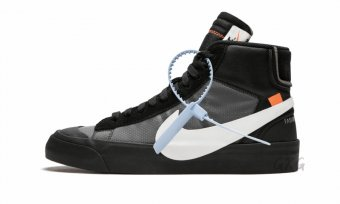 "The 10 Nike Blazer Mid""Off-White - Grim Reaper"" AA3832 001"