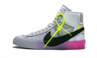 "The 10 Nike Blazer Mid ""Off-White- Queen"" AA3832 002"